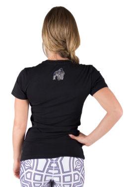 fitness-t-shirt-zwart-zilver-gorilla-wear-luka-achter-1