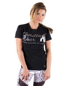 fitness-t-shirt-zwart-zilver-gorilla-wear-luka-voor-1
