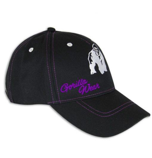 lady-signature-cap-wit-roze-gorilla-wear-voorkant
