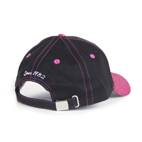 louisiana-glitter-cap-zwart-roze-gorilla-wear-achterkant-1