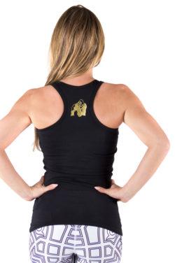 tank-top-zwart-goud-gorilla-wear-florence-achter-1