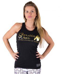 tank-top-zwart-goud-gorilla-wear-florence-voor-3