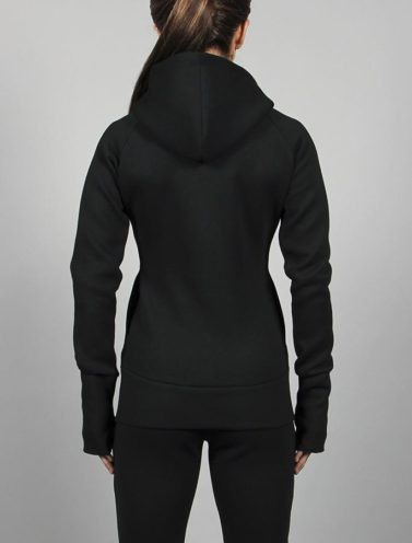 Fitness Jacket Zwart Rits- Pursue Fitness-2