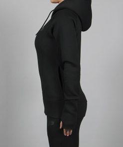 Fitness Jacket Zwart Rits- Pursue Fitness-3