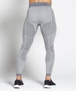 Fitness Legging Mannen Grijs - Pursue Fitness Xeno 2