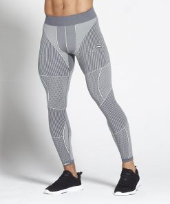 Fitness Legging Mannen Grijs - Pursue Fitness Xeno