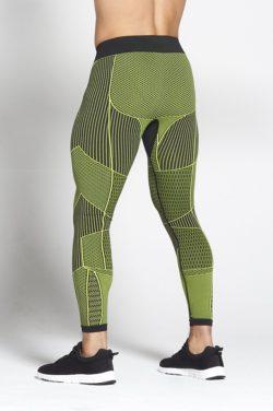 Fitness Legging Mannen Groen - Pursue Fitness Xeno 2