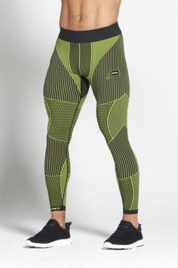 Fitness Legging Mannen Groen - Pursue Fitness Xeno