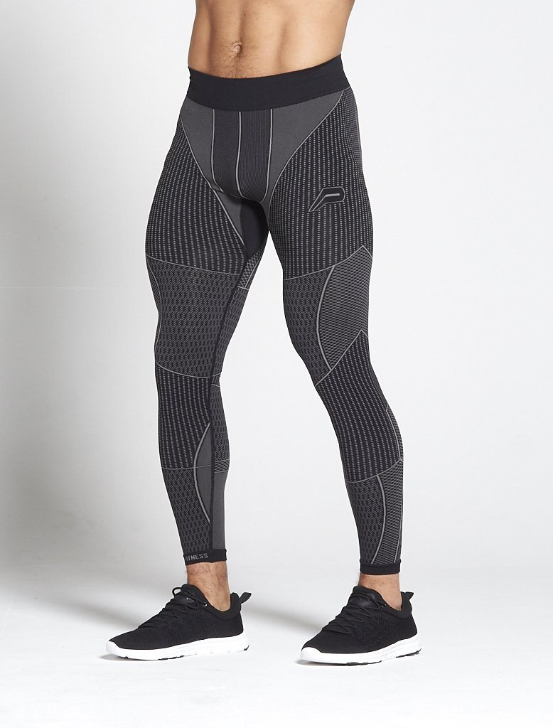 Fitness Legging Mannen Zwart - Pursue Fitness Xeno
