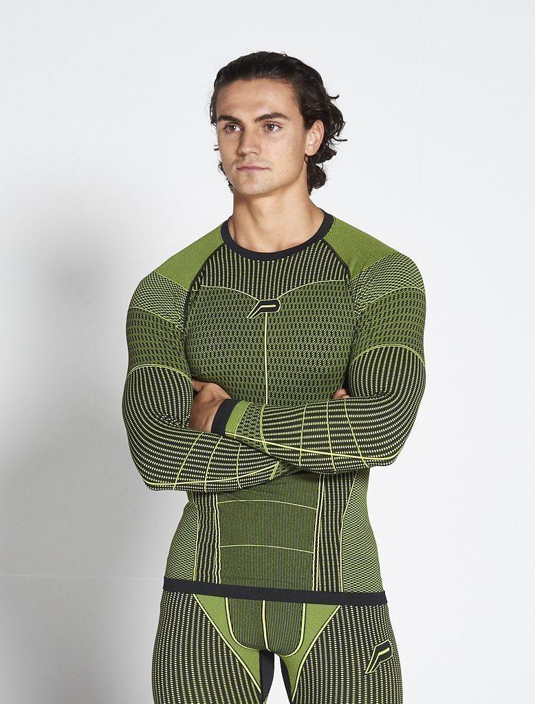 Fitness Longsleeve Groen - Pursue Fitness Xeno