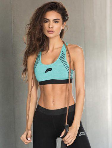 Fitness Sporttop Blauw - Pursue Fitness-1
