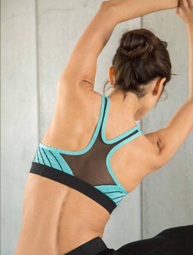Fitness Sporttop Blauw - Pursue Fitness-2
