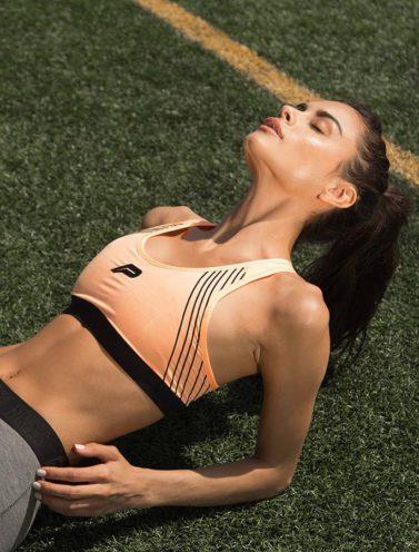 Fitness Sporttop Oranje - Pursue Fitness-1