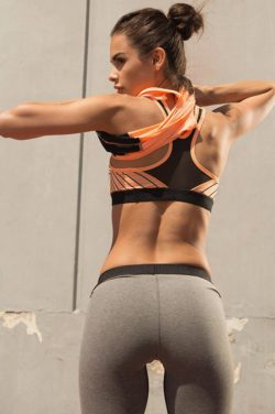 Fitness Sporttop Oranje - Pursue Fitness-2