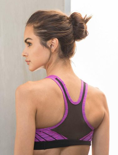 Fitness Sporttop Paars - Pursue Fitness-2