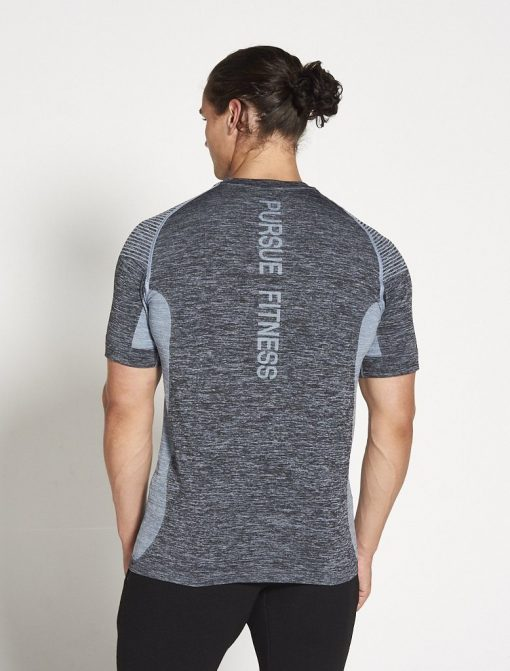 Fitness T-shirt Blauw - Pursue Fitness Xeno 2