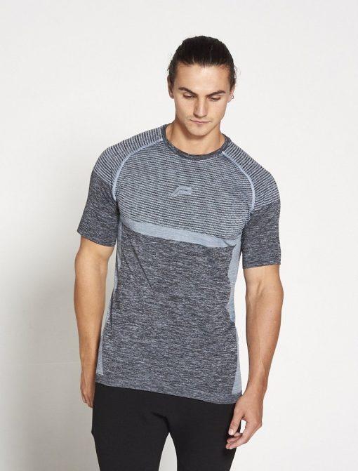 Fitness T-shirt Blauw - Pursue Fitness Xeno