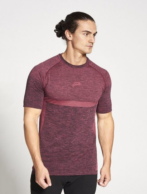 Fitness T-shirt Rood - Pursue Fitness Xeno