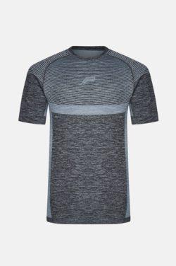 Fitness T-shirt Zwart Blauw - Pursue Fitness-1