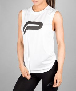 Fitness Tank Top Wit - Pursue Fitness-1
