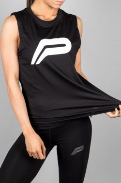 Fitness Tank Top Zwart - Pursue Fitness-2