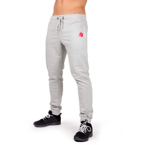 Bodybuilding Gym Tight Grijs - Gorilla Wear Classic Joggers-1