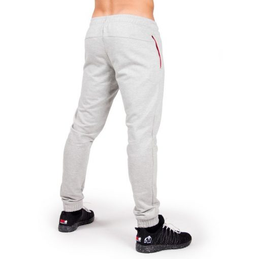 Bodybuilding Gym Tight Grijs - Gorilla Wear Classic Joggers-2