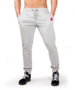 Bodybuilding Gym Tight Grijs - Gorilla Wear Classic Joggers-3