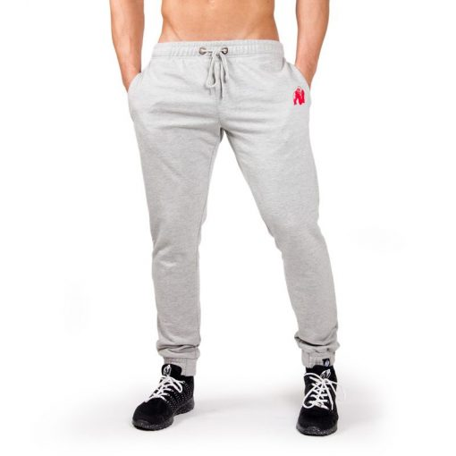Bodybuilding Gym Tight Grijs - Gorilla Wear Classic Joggers-3