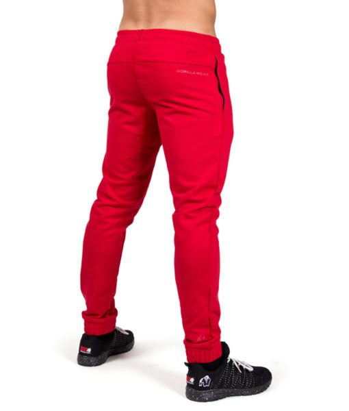 Bodybuilding Gym Tight Rood - Gorilla Wear Classic Joggers-2