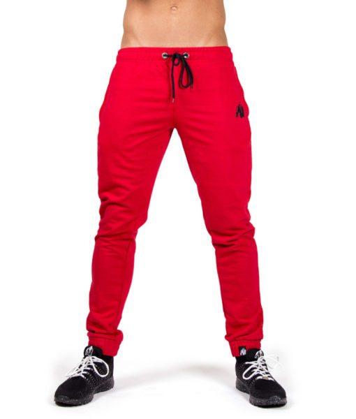 Bodybuilding Gym Tight Rood - Gorilla Wear Classic Joggers-3