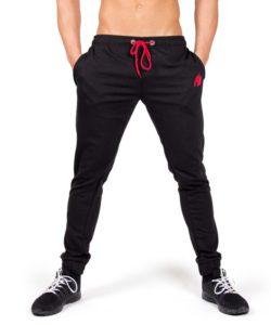 Bodybuilding Gym Tight Zwart – Gorilla Wear Classic Joggers-3
