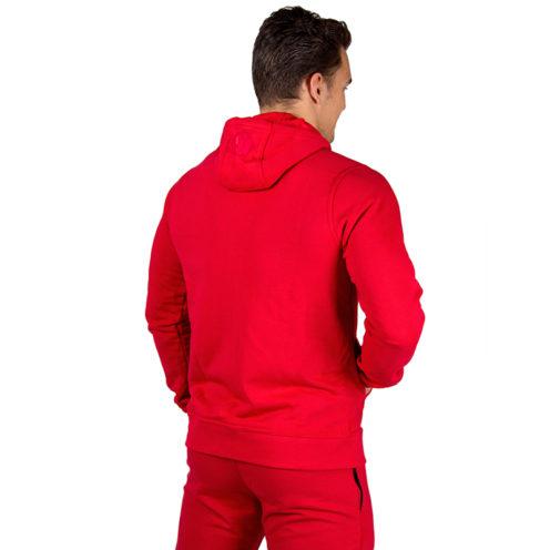 Bodybuilding Vest Rood - Gorilla Wear Classic Zipped Hoodie-2