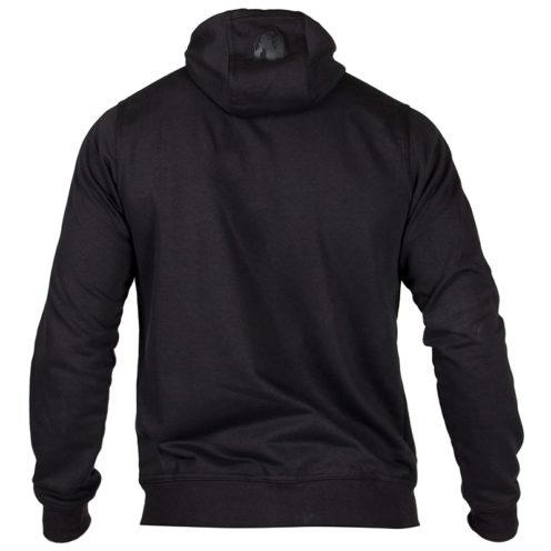 Bodybuilding Vest Zwart - Gorilla Wear Classic Zipped Hoodie-2