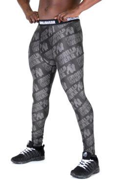 Fitness Legging Zwart Grijs - Gorilla Wear San Jose-1