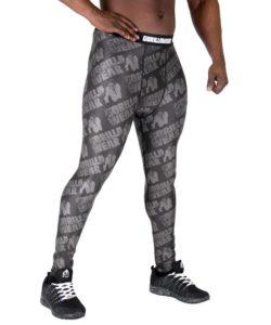 Fitness Legging Zwart Grijs - Gorilla Wear San Jose-2