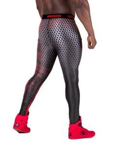 Fitness Legging Zwart Rood - Gorilla Wear Bruce-2