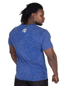 Fitness Shirt Blauw - Gorilla Wear Rocklin-2