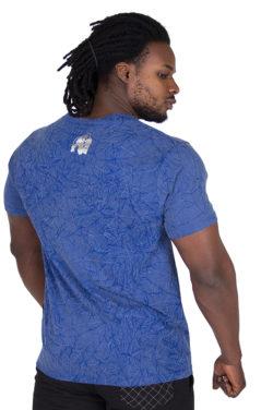 Fitness Shirt Blauw - Gorilla Wear Rocklin-2