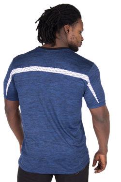 Fitness Shirt Blauw - Gorilla Wear Roy-2