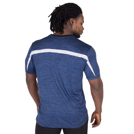 Fitness Shirt Blauw - Gorilla Wear Roy-2