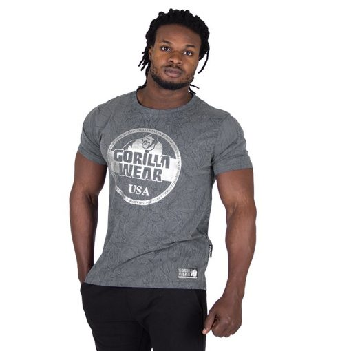 Fitness Shirt Grijs - Gorilla Wear Rocklin-1