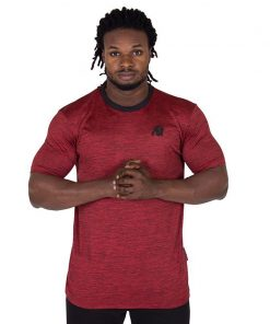 Fitness Shirt Rood - Gorilla Wear Roy-1