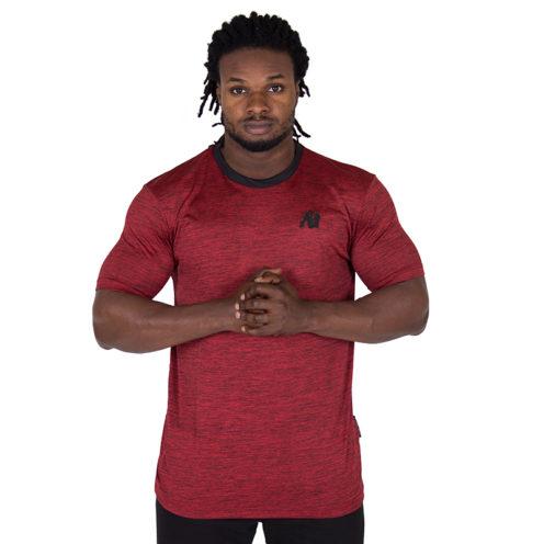 Fitness Shirt Rood - Gorilla Wear Roy-1