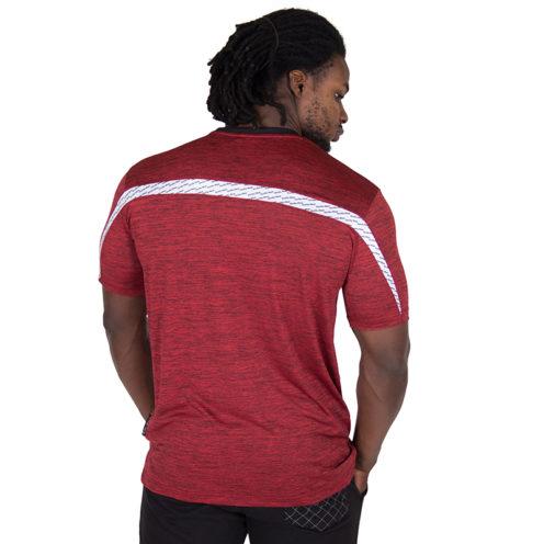 Fitness Shirt Rood - Gorilla Wear Roy-2