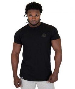Fitness Shirt Zwart - Gorilla Wear Bodega-1