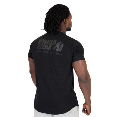 Fitness Shirt Zwart - Gorilla Wear Bodega-2