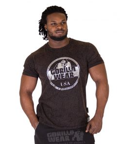Fitness Shirt Zwart - Gorilla Wear Rocklin-1