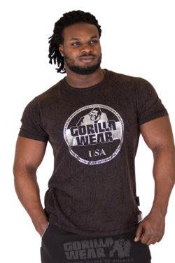 Fitness Shirt Zwart - Gorilla Wear Rocklin-1