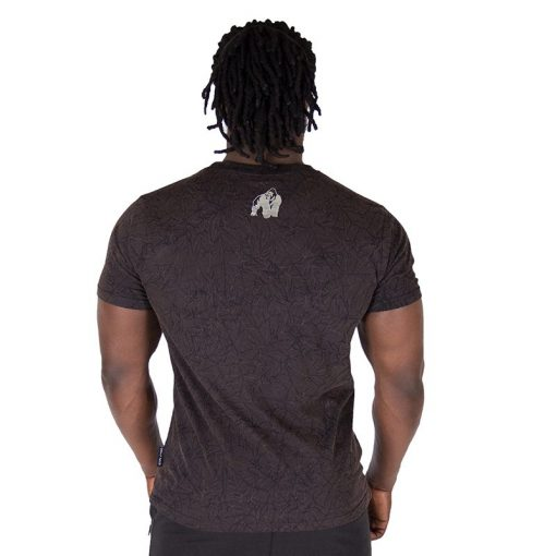 Fitness Shirt Zwart - Gorilla Wear Rocklin-2